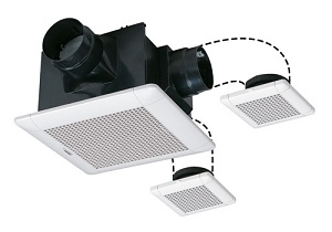 三菱電機 ダクト用換気扇 天井埋込形 VD-15ZFFLC10