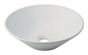 カクダイ 手洗器 【493-037-W】 丸型手洗器//月白