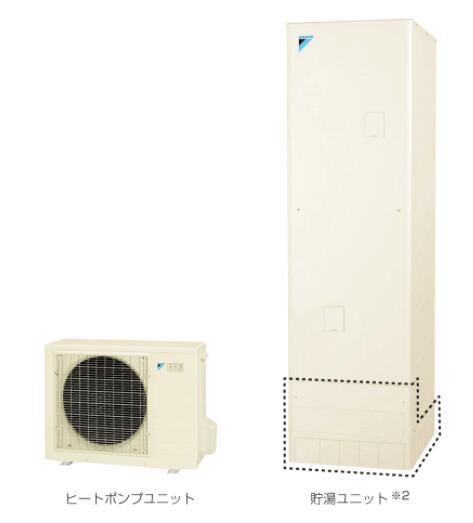 EQN37VFV ダイキンエコキュート 一般地用370L フルオートタイプ 一般地使用 角型