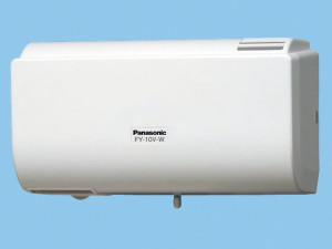 パナソニック 換気扇 【FY-10V-W】 パイプファン Q-hiファン (10畳用) 同時給排タイプ 壁掛形 10畳用 色:クリスタルホワイト
