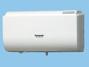 パナソニック 換気扇 【FY-6V-W】 パイプファン Q-hiファン (6畳用) 同時給排タイプ 壁掛形 6畳用 ルーバー色:クリスタルホワイト
