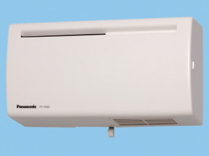 パナソニック 換気扇 【FY-12A2-W】 Q-hiファン(12畳用・壁掛・薄型) 同時給排タイプ 壁掛・薄形 12畳用 色:ホワイト