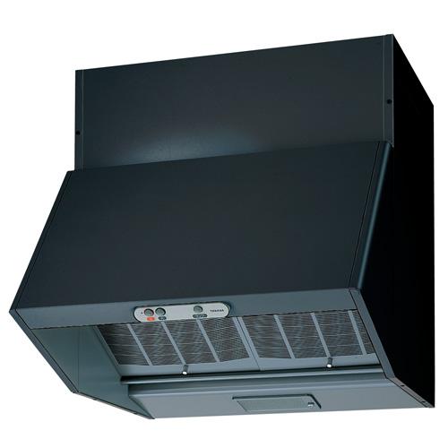 東芝 レンジフードVKH-60LD(K)ブラック 【旧型番:VKH-60VD(K)】深形 戸建住宅用 プロペラタイプ 60cm巾