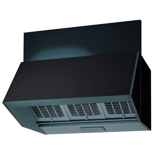 東芝 レンジフードVFR-74LK(K) 【旧型番:VFR-74V(K)K】ブラック三分割構造 シロッコファン 壁スイッチ式 75cm巾