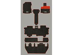 無限フリード(GB5/6)フリードハイブリッド(GB7/8)7人乗り用スポーツマット