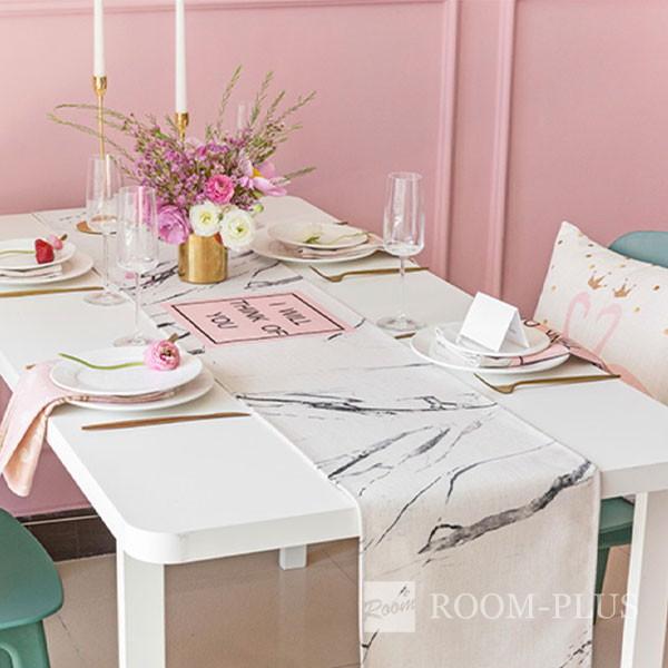 テーブルランナー ピンク ノルディック テーブルマット テーブルクロス ダイニングテーブル 30cm×160cm 180cm 200cm 220cm table-r0108 新生活
