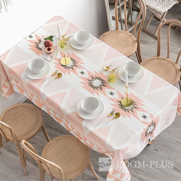 テーブルクロス モノトーン ボヘミアン テーブルマット ダイニングテーブル 140cm×140cm 180cm 200cm 大理石柄 table-c0102 新生活