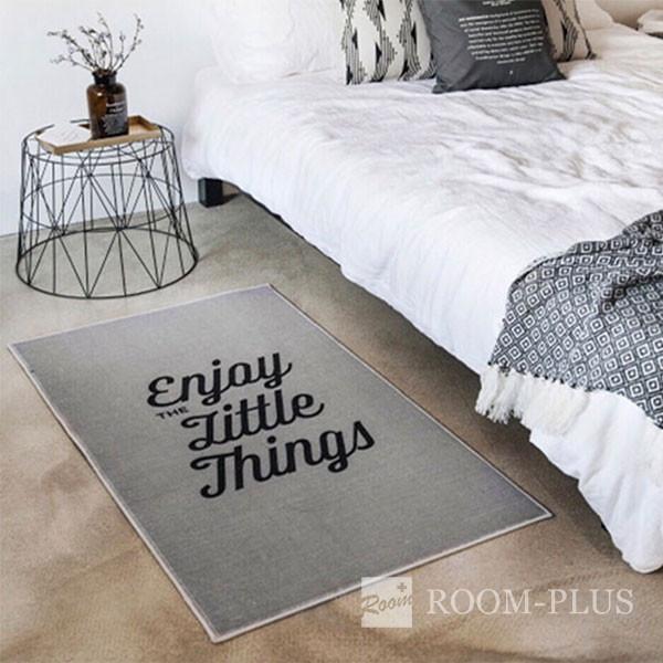 フロアマット ラグマット リビング 寝室 キッチン エントランス グレー モダン インテリア 雑貨 Fmat-0201