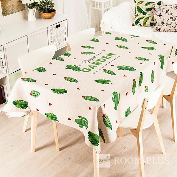 テーブルクロス テーブルマット ダイニングテーブル サボテン柄 table-c0019 新生活