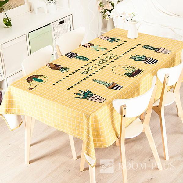 テーブルクロス テーブルマット ダイニングテーブル サボテン柄 table-c0021 新生活