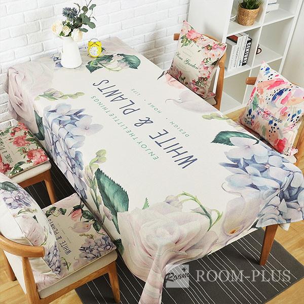 テーブルクロス ダイニングテーブル 花柄 フラワーデザイン table-c0016 新生活