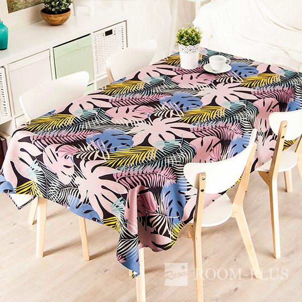 テーブルクロス テーブルマット ダイニングテーブル リーフ柄 table-c0028 新生活