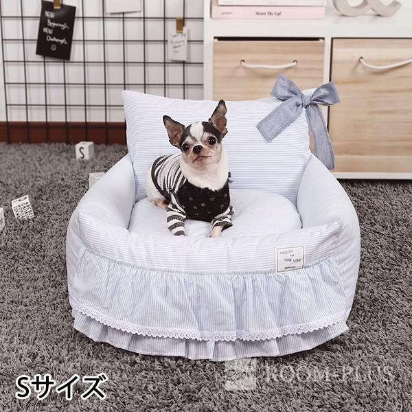 ペットベッド ドッグベッド キャットベッド Sサイズ 犬 猫 オールシーズン パステルカラー dbed-0083