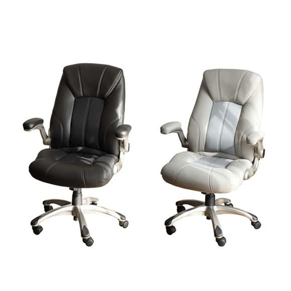 ソフトPUエグゼクティブチェア(椅子 PCチェアー オフィスチェアー パソコンチェアー)【送料無料】
