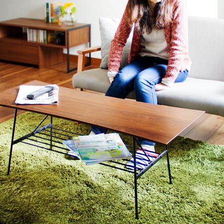 アンセム センターテーブル(anthem テーブル リビングテーブル コーヒーテーブル 木 スチール ミッドセンチュリー ヴィンテージ シンプル)