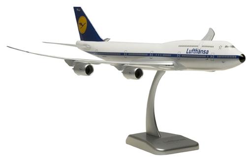 Schuco 1:600 Boeing 747-8 Lufthansa Siegerflieger Fanhansa