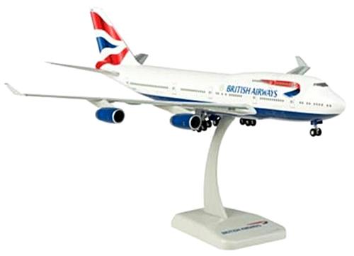 hogan Wings(ホーガンウイングス) 1/200 ボーイング 747-400 ブリティッシュエアウェイズ G-BYGG