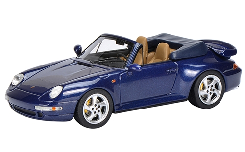 Schuco(シュコー) 1/43 ポルシェ 911 (993) ターボ カブリオレ ブルー