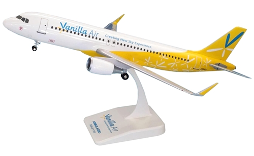 EVER RISE(エバーライズ) 1/100 エアバス A320 バニラエア JA01VA