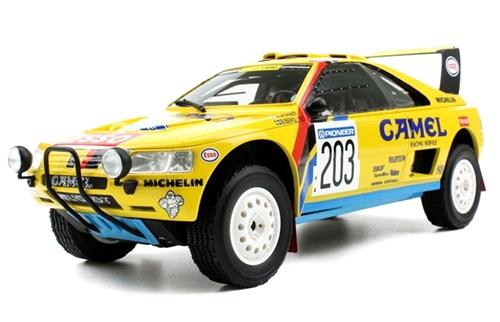 TOPMARQUES(トップマルケス) 1/18 プジョー 405 T-16 CAMEL 1990 パリダカール 優勝 A.バタネン/B.ベルグンド