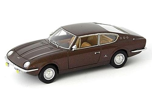 autocult(オートカルト) 1/43 ヴィニャーレ フィアット 125 サマンサ 1967 ブラウンメタリック