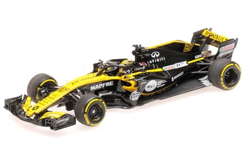 MINICHAMPS まとめ買い特価 ミニチャンプス 1 43 ルノー スポーツ N.ヒュルケンベルグ F1チーム 開店記念セール RS18 2018 #27