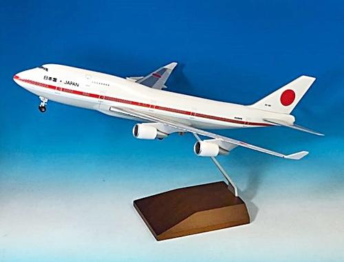 CROSSWING(クロスウイング) 1/200 ボーイング 747-400 日本国政府専用機 2号機 20-1102 木製台座スタンド仕様