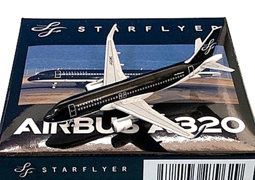 CROSSWING(クロスウイング) 1/500 エアバス A320-200 スターフライヤー JA24MC