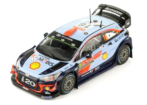 ixo(イクソ) 1/43 ヒュンダイ i20 WRC 2018 ラリー・ポルトガル #16 D.ソルド