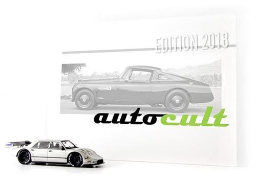 autocult(オートカルト) 1/43 セット・オブ・ザ・イヤー 2018 (ザウバーメルセデス W140 + イヤーブック 2018)