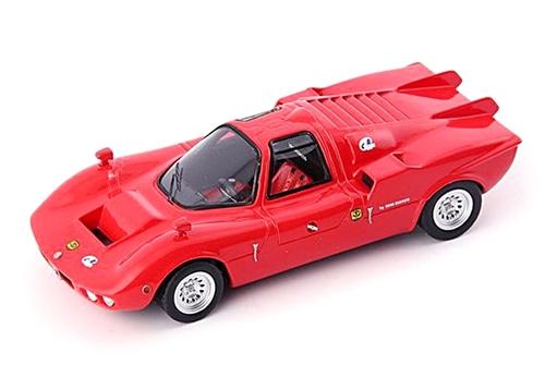 autocult(オートカルト) 1/43 FNM アルファロメオ Furia GT 1971 レッド