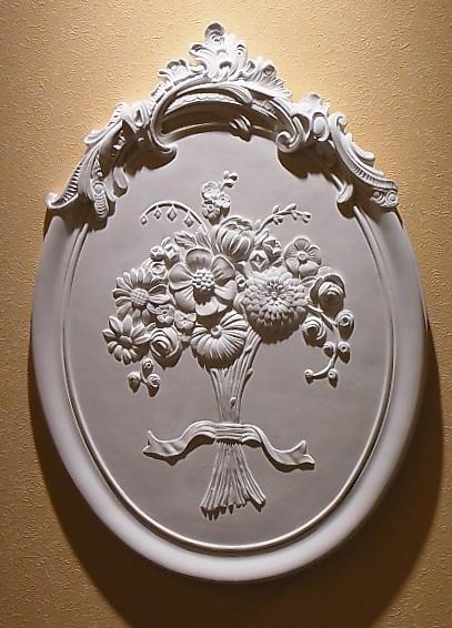 イタリア製石膏レリーフ