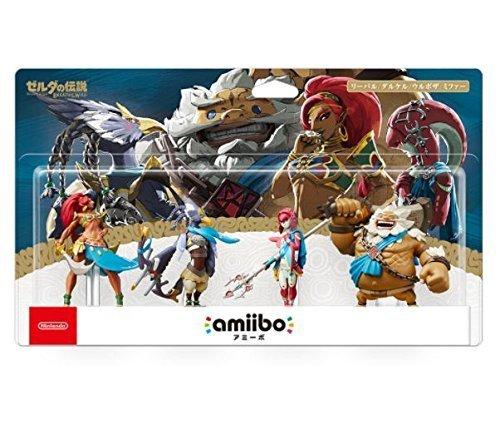 amiibo 四人の英傑セット リーバル ダルケル ウルボザ ミファー ゼルダの伝説シリーズ 任天堂 アミーボ Nintendo Switch用その他周辺機器