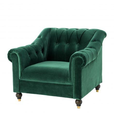 【正規代理店】EICHHOLTZチェア Brian cameron green【モダン チェア】【チェア オシャレ】【1Pソファ】