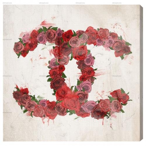 【オリバーガル正規品】LOVE ROSES - MODERNARTE 12673 シャネル 30.4センチ×30.4センチ
