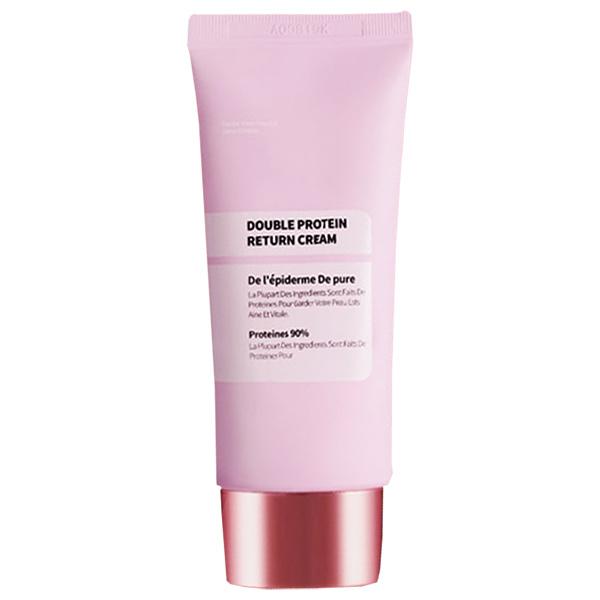 水光クリームは美容大国韓国の皮膚科専用化粧品会社が製造した肌タンパク質に着目したスキンケアクリームです 水光クリーム 使い勝手の良い 50g ダブルプロテインリターンクリーム 新着
