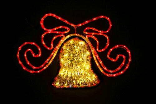【送料無料】LEDクリスタルストローライトホログラムベル WG-5314 LED176球 友愛玩具〔イルミネーション〕 プレゼント