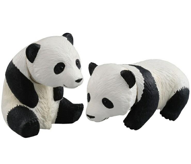 商品追加値下げ在庫復活 首が動く子どもパンダ2頭セット アニア AS-23 ジャイアントパンダ 子ども おもちゃ 動物フィギュア タカラトミー 蔵 プレゼント