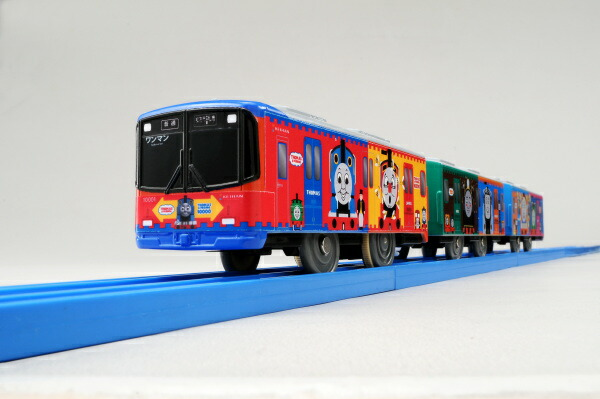 10000 series Thomas the tank engine Thomas Tomy(takaratomy) PLA-rail s-59 Keihan train [toy]