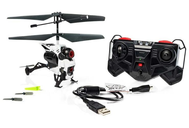 ラッピング選択可 プレゼントに 一部対象外あり 送料無料 AIRHOGS おもちゃ ハピネット 高級 小型カメラ搭載ヘリ プレゼント ビデオコプター 記念日