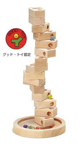 ダンダンころころ W-004 日本製 MOCCOの森シリーズ 木のおもちゃ 平和工業 木製おもちゃ クリスマス プレゼント