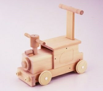 【送料無料】森のピイポートレイン W-036 日本製 MOCCOの森シリーズ 木のおもちゃ 乗用 平和工業 おもちゃ
