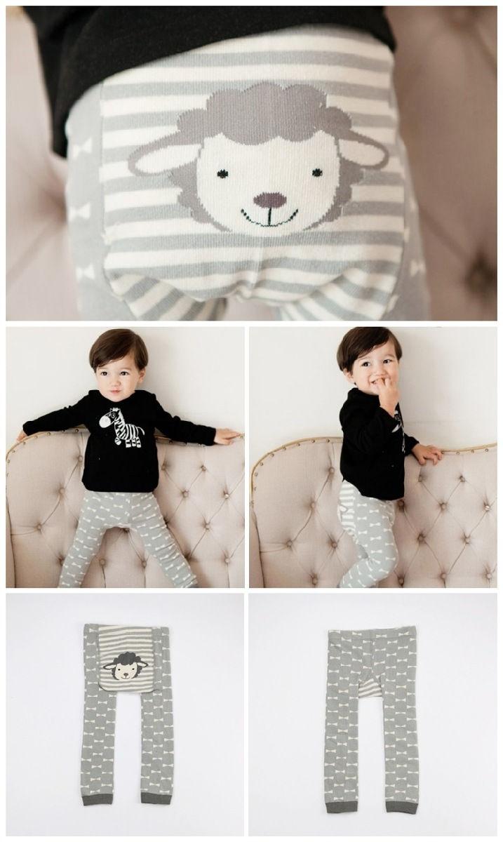 f2ef215c6c398 子供用赤ちゃん用タイツベビーアニマルデザインカラータイツスパッツレギンスあったか防寒女の子男の子
