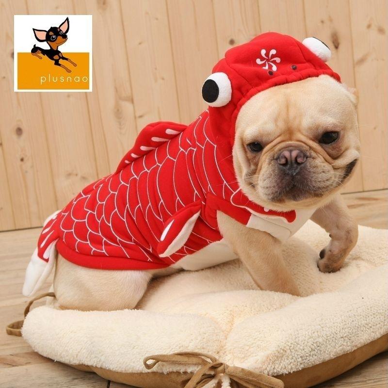 ペット・ペットグッズ ドッグウエア その他小型犬 コスチューム  送料無料 ペット用 コスプレ コスチューム 仮装 衣装 犬 愛犬 ペット 服 ペット用品 ドックウェア 可愛い かわいい おもしろ 金魚 ハロウィン パーティー イベント XS-XL