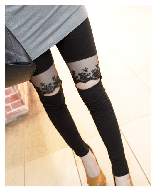 Race switching in sexy ♪ leggings peeked spats ☆ leggings ☆ bare feet. scheduled to ship today 10/30