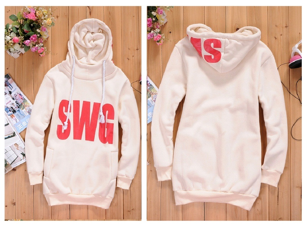Warm ★ selenge system ★ back brushed BIG logoperkirwan piece ★ LL ~ 5 L / women's / outer / long-length hoodies / tops / sweatshirts