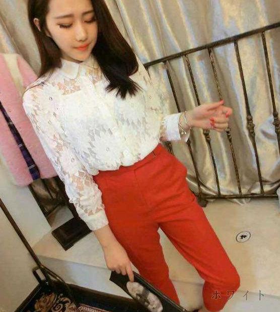 CLICK&FUNNY(クリックアンドファニー)フロントレースTシャツ 韓国韓国