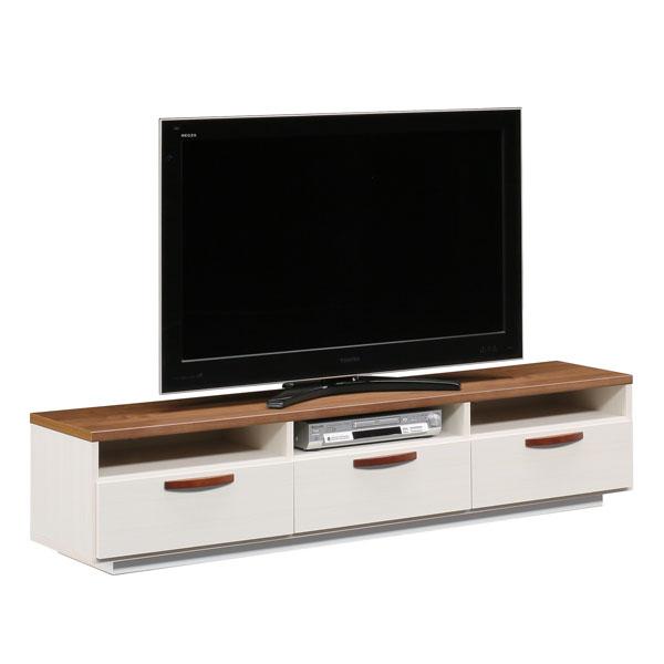 【送料無料】 【TVボード】 モダン 北欧風 テレビボード ローボード テレビ台 TVボード AV収納 完成品 日本製 国産 175TVボード ミライ BR