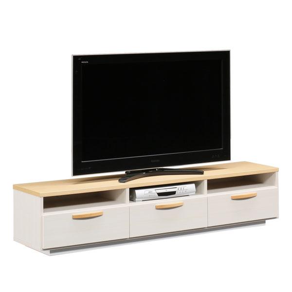 【送料無料】 【TVボード】 モダン 北欧風 テレビボード ローボード テレビ台 TVボード AV収納 完成品 日本製 国産 175TVボード ミライ NA