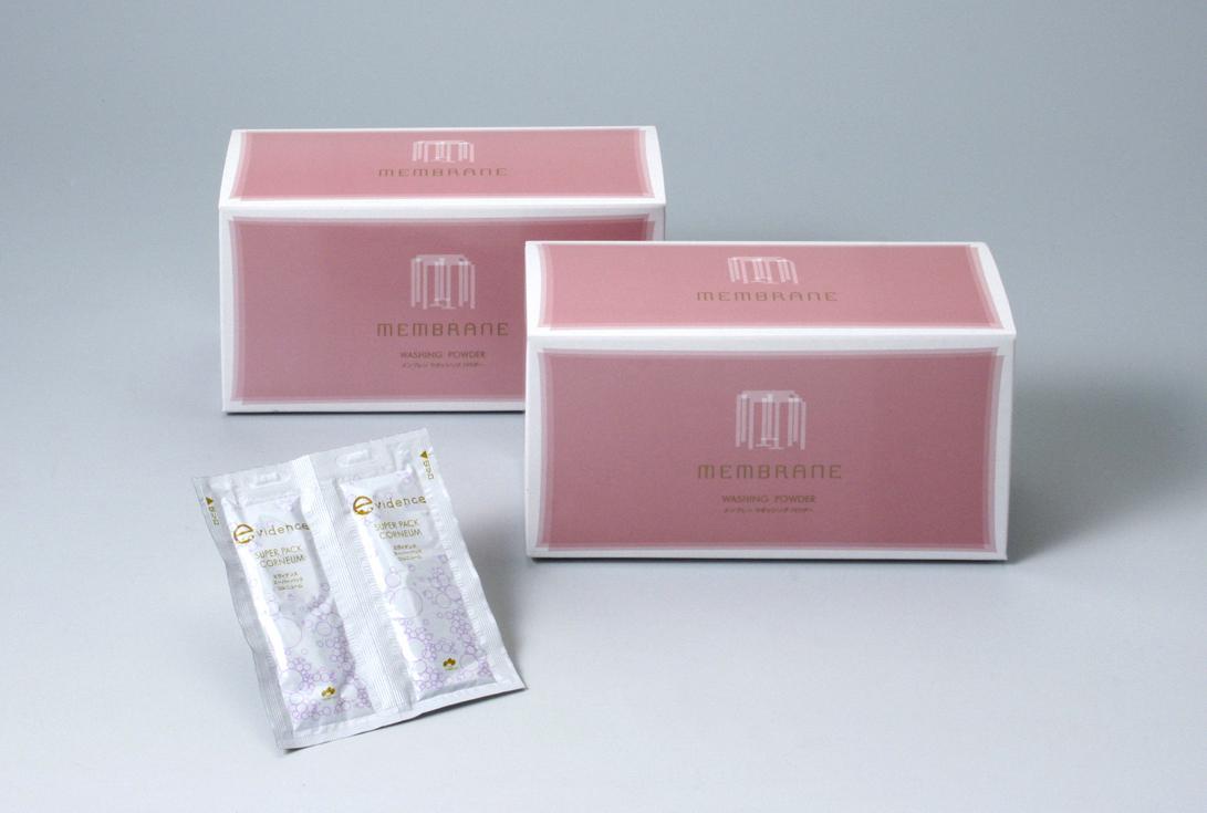 記念日 おすすめ特集 cac化粧品 送料無料 メンブレン 2箱セットにスーパーパックコルニューム2袋プレゼント ウォッシングパウダー